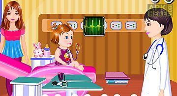 Baby examination doctor