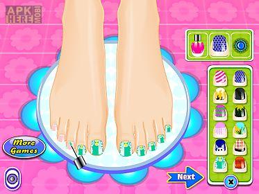 beauty salon nail games