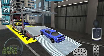 Car transport parking extended