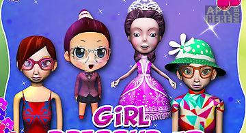 Cute princess dressup girls