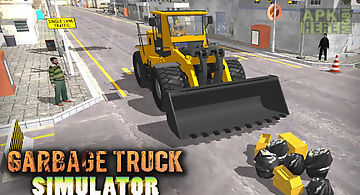 Garbage truck simulator 3d