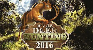 Jungle deer hunting game