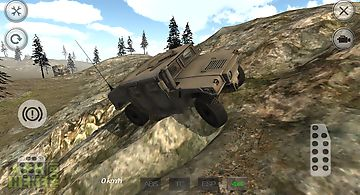Military 4x4 mountain offroad