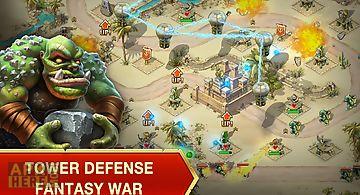 Toy defense: fantasy tower td