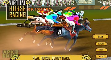 Virtual horse racing champion