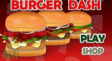 Burger dash - cooking games