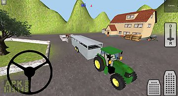 Farm cattle transporter 3d