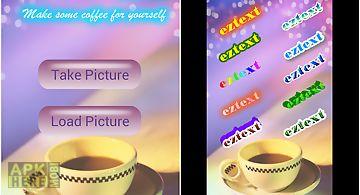 Eztext - edit photo with text