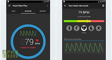 Heart rate plus