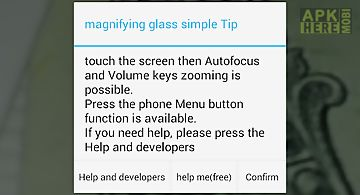 Magnifier [magnifying glass]