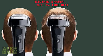 Electric shaver bald me prank