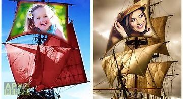 Hoarding ship photo frames