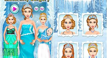Ice princess maternity surgery