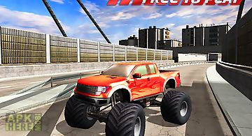 Monster truck freeway insanity