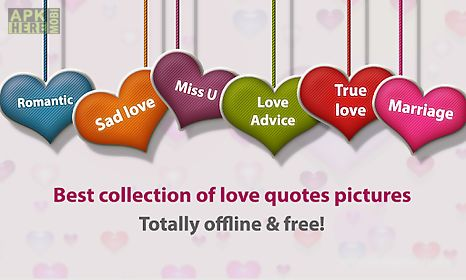 Love Quotes App Inspiration Romance Quotes For Android Free Download At Apk Here Store