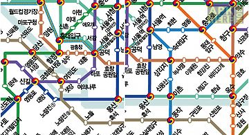 Eoul Subway Map.Seoul Subway For Android Free Download At Apk Here Store Apktidy Com