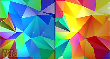 Crystal 3d  Live Wallpaper