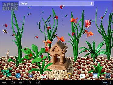 plasticine aquarium live wallpaper