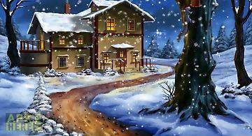 Snow: night Live Wallpaper