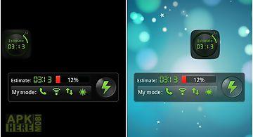 Black widget go power battery