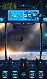 space trip go dynamic theme