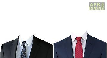 Suits men photo effects