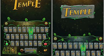 Temple theme for kika keyboard