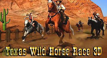 Texas: wild horse race 3d