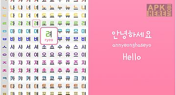 Korean alphabet pronunciation