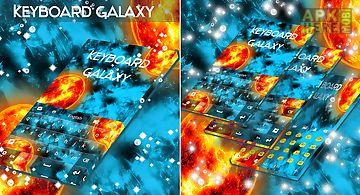 Galaxy keyboard go theme