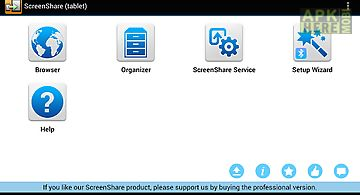 Screenshare (tablet)