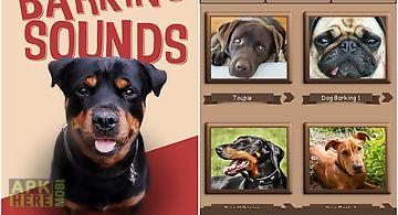 Barking dog sounds