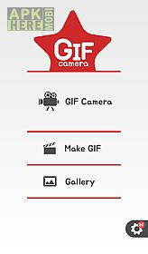 gif camera - gif with stickers