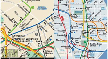 New york subway & bus maps