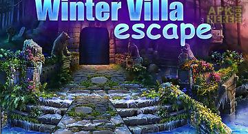 Winter villa escape by dawn