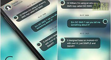 Go sms pro circle theme