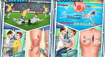 Sports meet emergency surgery