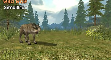 Wild wolf simulator 3d