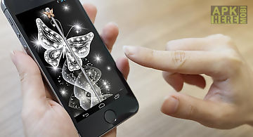 Butterfly lock screen plus