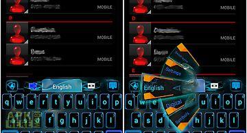 Electric keyboard theme