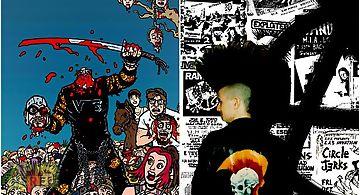 Punk metal rock