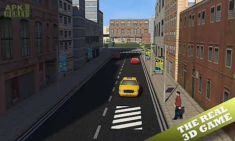 taxi driver 3d simulator