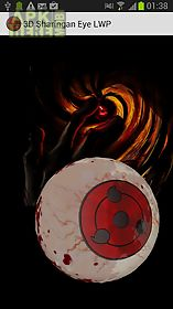 3d sharingan eye lwp live wallpaper