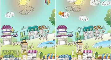Hand-drawn city Live Wallpaper