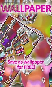 rainbow drops  free live wallpaper