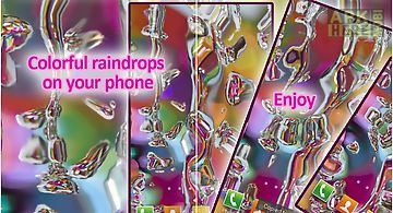 Rainbow drops  free Live Wallpap..