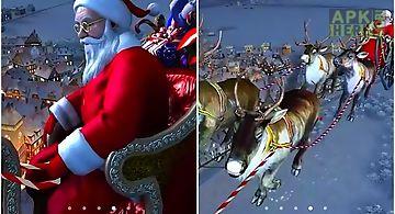 Santa claus 3d Live Wallpaper