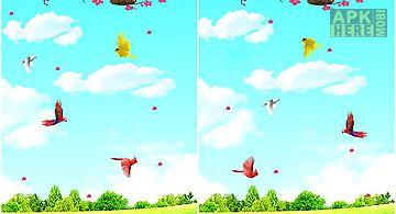 Sky birds  free Live Wallpaper