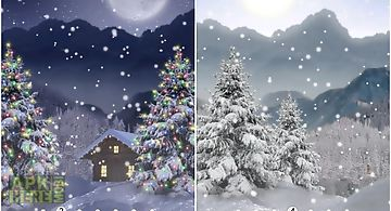 Winter snow xmas lwp free Live W..
