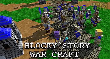Blocky story: war craft